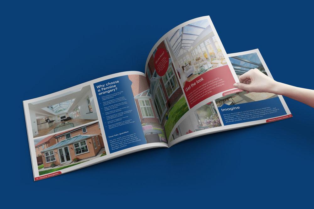 pennine brochure stop graphic design agency newcastle