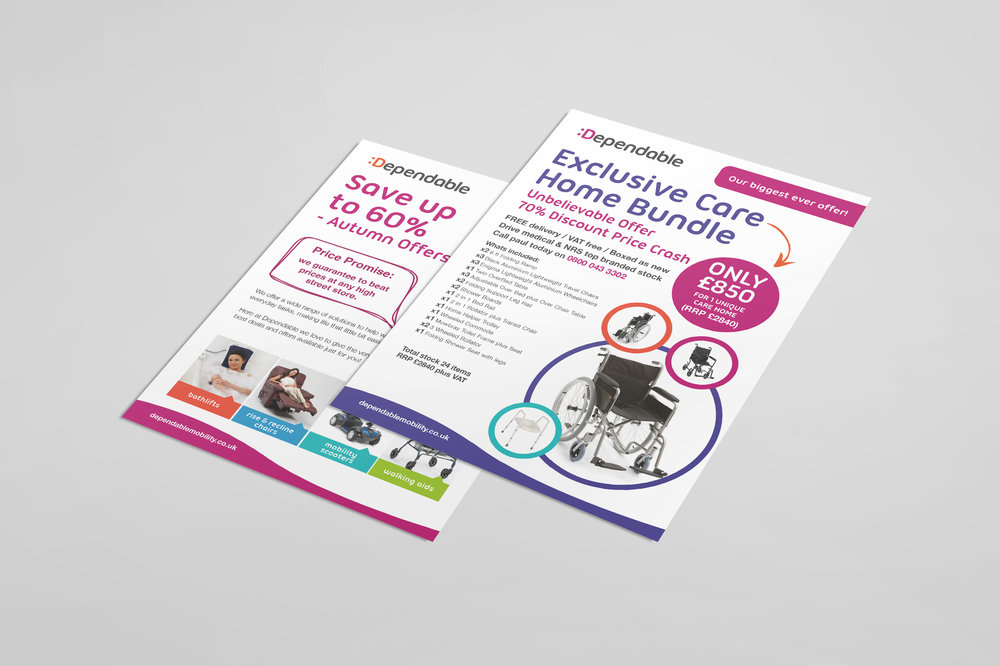 dependable flyer stop design newcastle