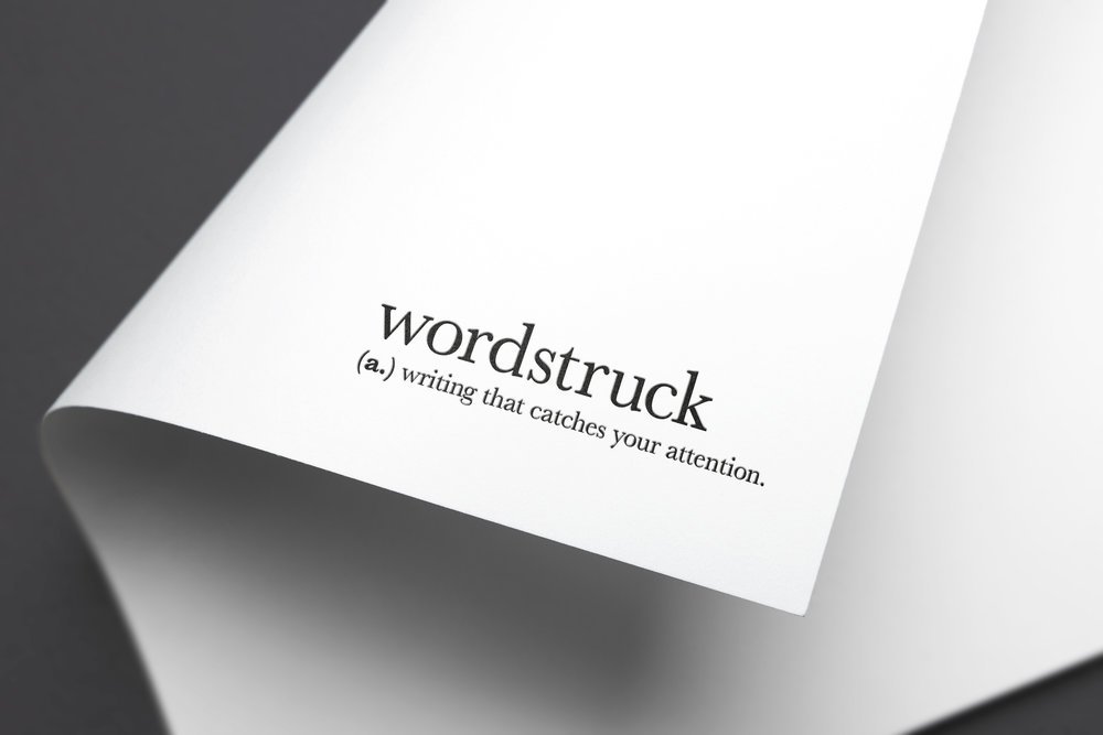 wordstruck branding stop graphic design newcastle