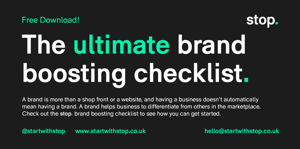 stop ultimate brand boosting checklist