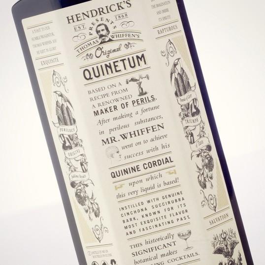 hendricks gin tone of voice packaging design