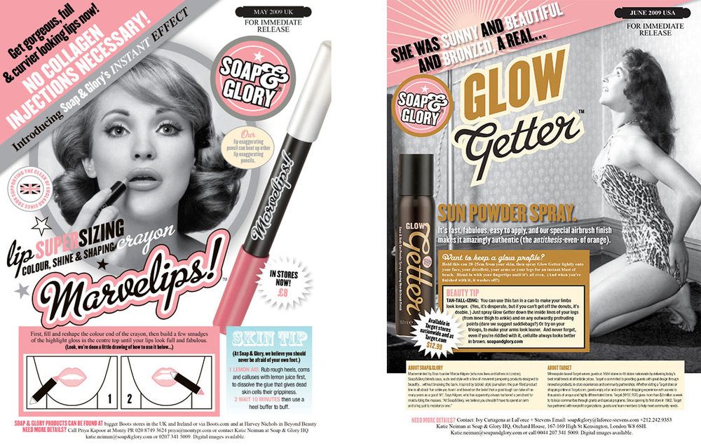 soap and glory tone of voice