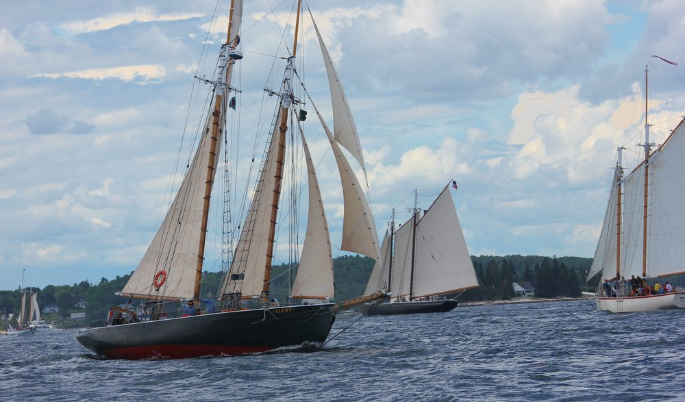 The Wonderful Dance of Schooners and the Wind
