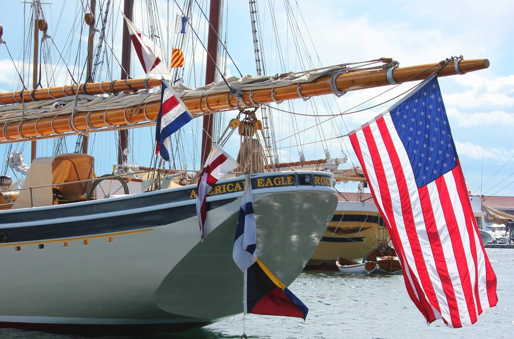 The Always Patriotic - Schooner American Eagle