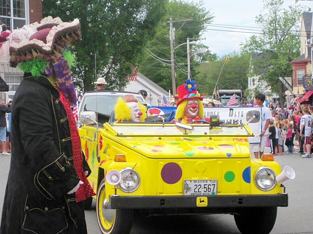 So much fun at the Windjammer Days Street Parade
