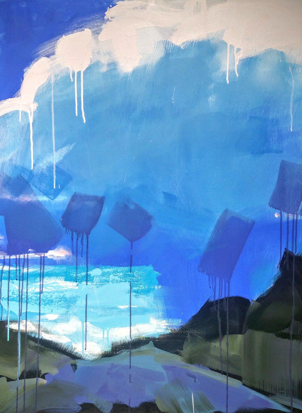"""""""Cloud Three"""" by Sally Veach"""
