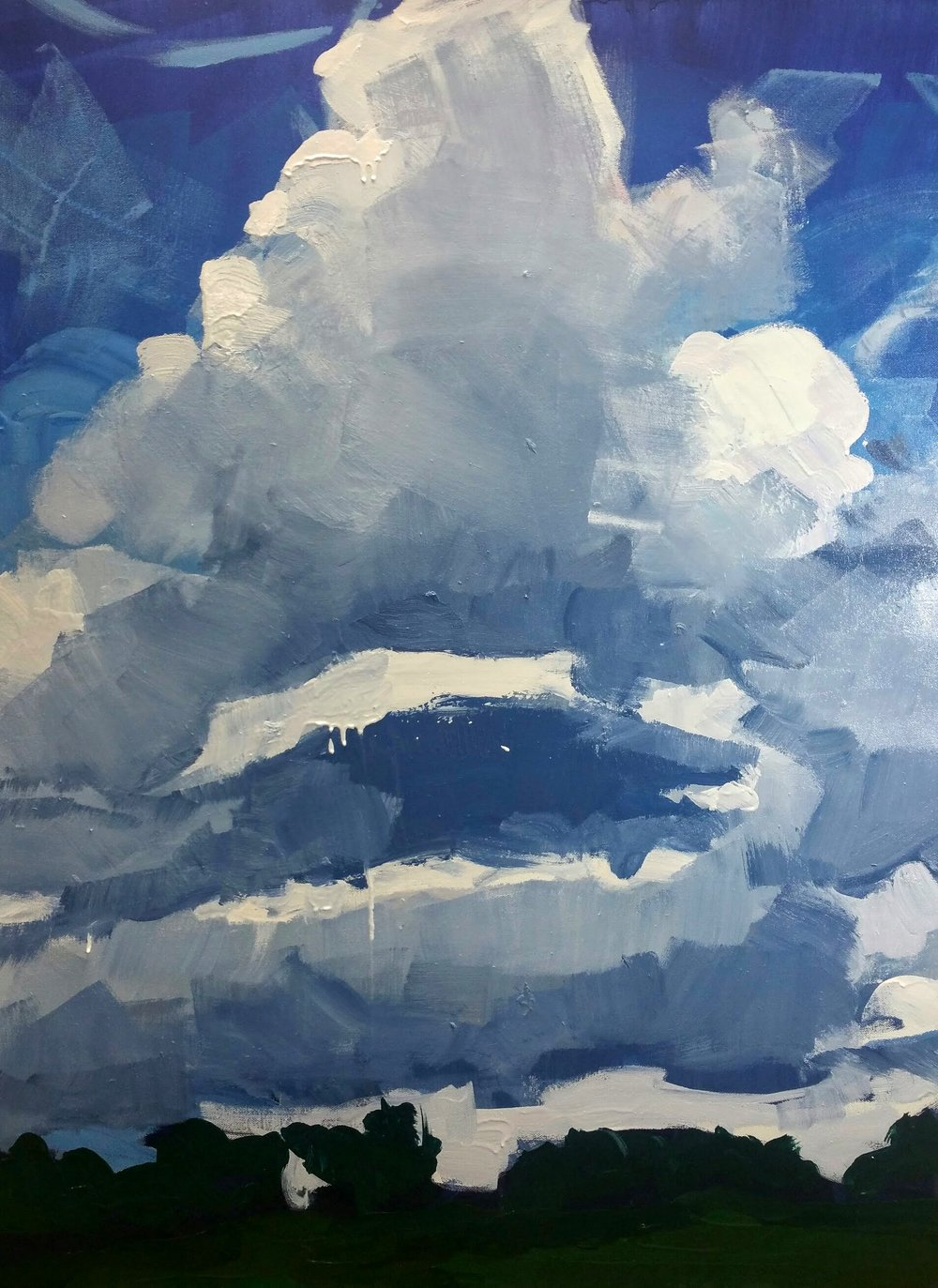 """""""Cloud Two"""" by Sally Veach"""