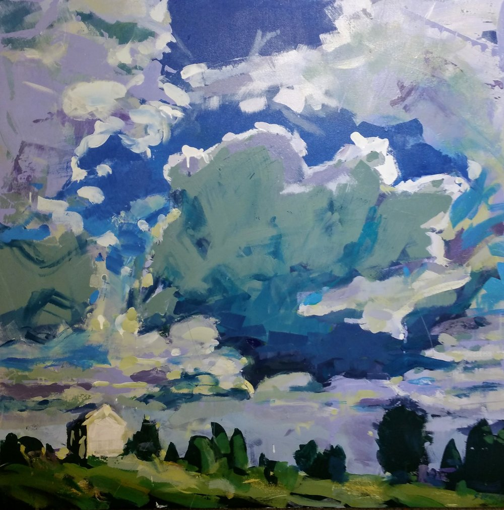 """""""Cloud One"""" by Sally Veach"""