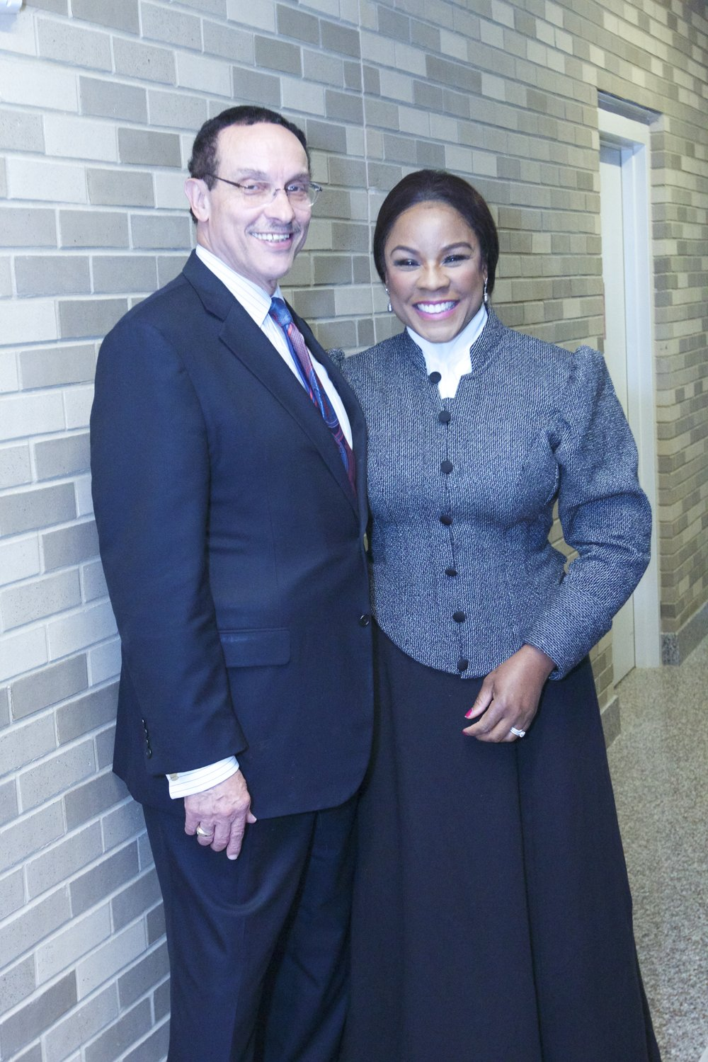 Denyce Graves with Vincent Gray.jpg