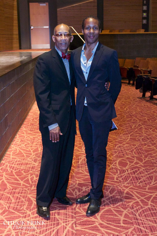 Steven with Stage Director, Lemuel Wade.jpg