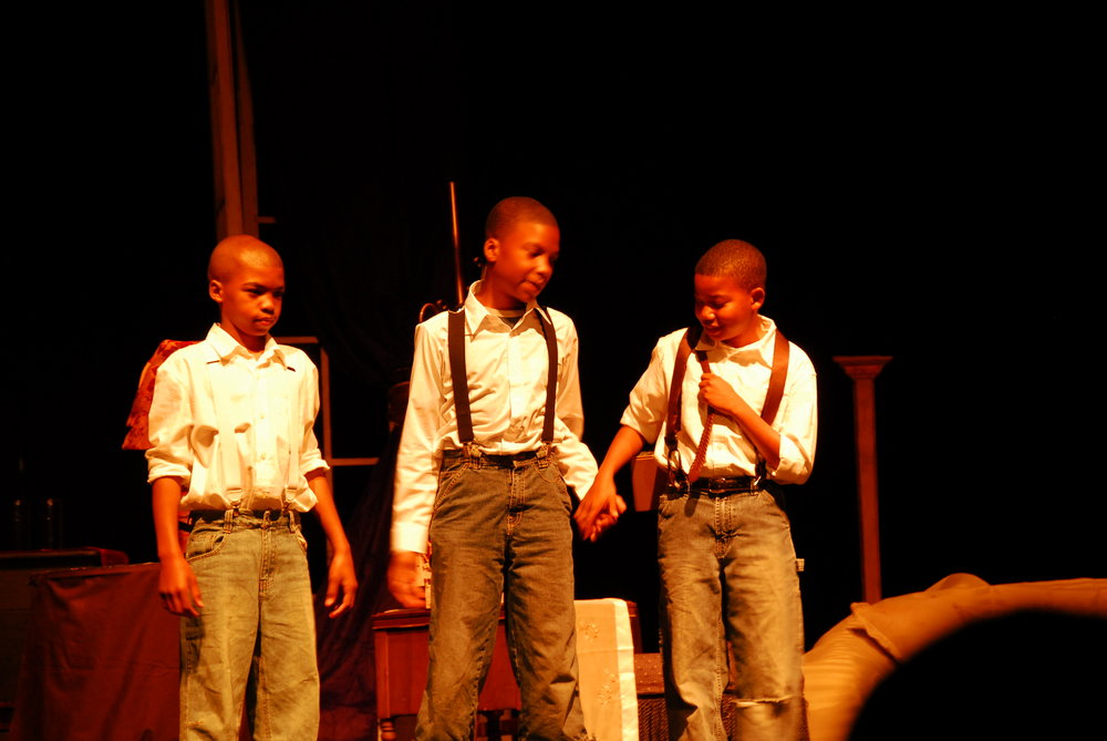 """A Boy's Summer""   David Haynes, Geremy Faulkner and Malachi White  Lyrics of Sunshine and Shadows:  Act 1, Scene 1 Catholic University of America, 2009."