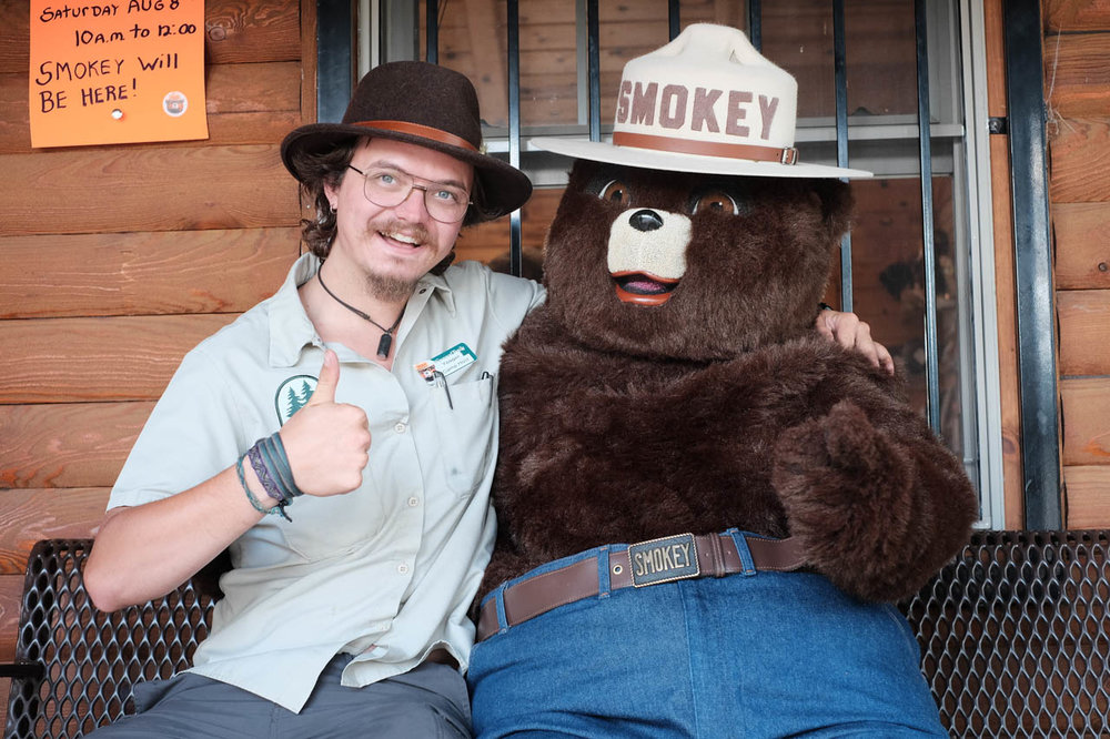 What other job encourages you to go meet Smokey Bear?