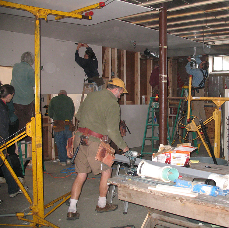 Basement Sheetrock Party.jpg