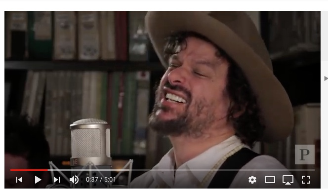 "Click on the image to hear Rusted Root's  ""Send Me On My Way"""