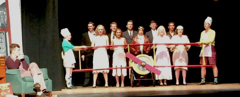 The BRTF Senior production of  The Drowsy Chaperone  in 2017.