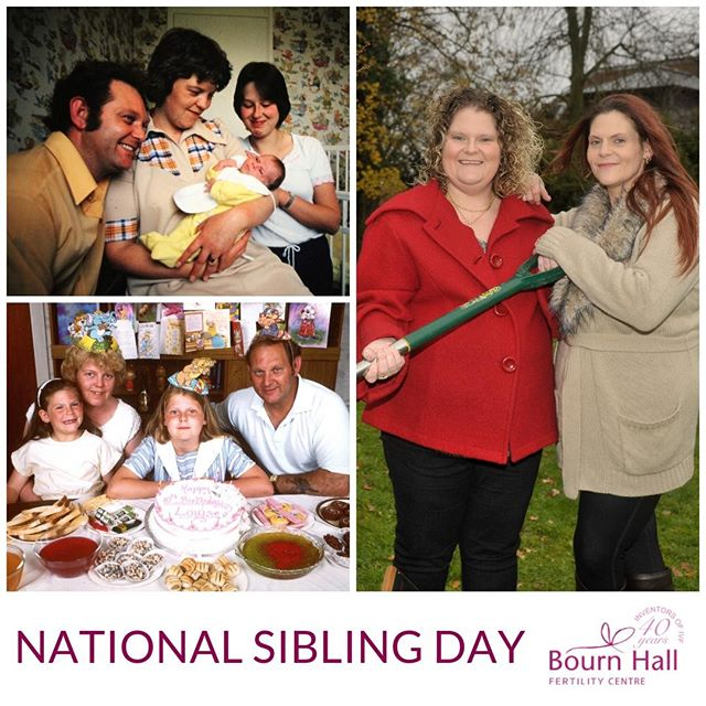 Today is #NationalSiblingDay and without the pioneering work of Bourn Hall, I wouldn't have my younger sister Natalie. After my birth in 1978, Robert Edwards and Patrick Steptoe founded Bourn Hall in Cambridgeshire, UK as the world's first IVF clinic, so that they could develop the technique that had proved successful with my birth. This led to the birth of my sister in 1982 who was the 40th baby to be born through IVF. Today, @BournHallFertilityuae continue to give world class IVF treatment to couples in Dubai and Al Ain. • • • #BournHallDubai #BournHall #IVFIs40  #IVF #IVFSuccess #Fertility #TTCSisters #TTCCommunity #InfertilitySucks #Infertility #InfertilitySucks #PCOS #Endometriosis #EggFreezing #IVFBaby #IVFPregnancy #IVFMiracle #IVFJourney #Alain #AbuDhabi #Rak #Dubai #Jumeirah #DubaiLadiesClub #أطفالالأنابيب #الإخصاب #التلقيح الاصطناعي