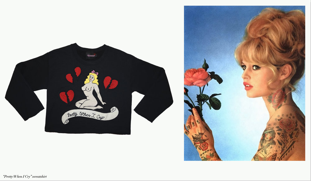 Pretty When I Cry sweatershirt - Mannino x B.Blakely.jpg