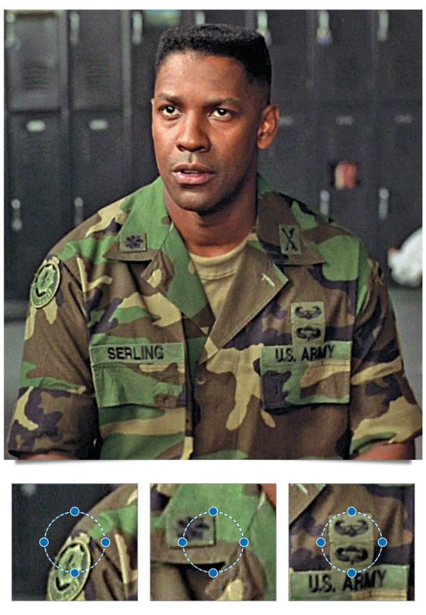 "Denzel Washington (Lt. Col. Nat Serling) ""Courage Under Fire"""