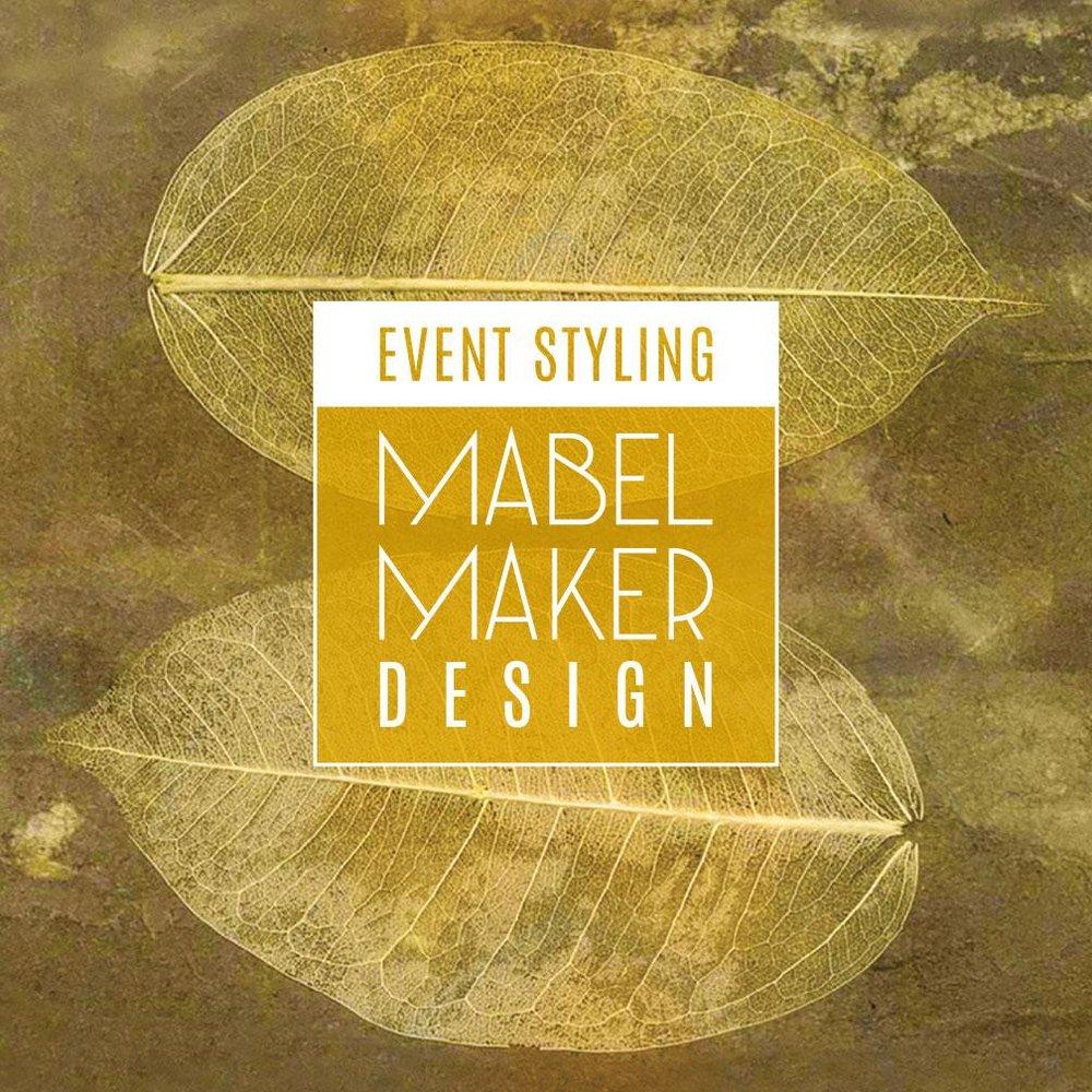 Mabel Maker Design Logo