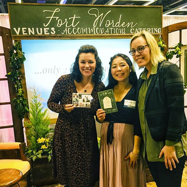 Thank you to the awesome helpers we had at the @seattleweddingshow last weekend in the @fortworden booth. They handed out the @weddingsacrossthesound flyers all weekend to all of the amazing wedding parties. #weddingsacrossthesound #loveacrossthesound #loveiseverywhere❤️