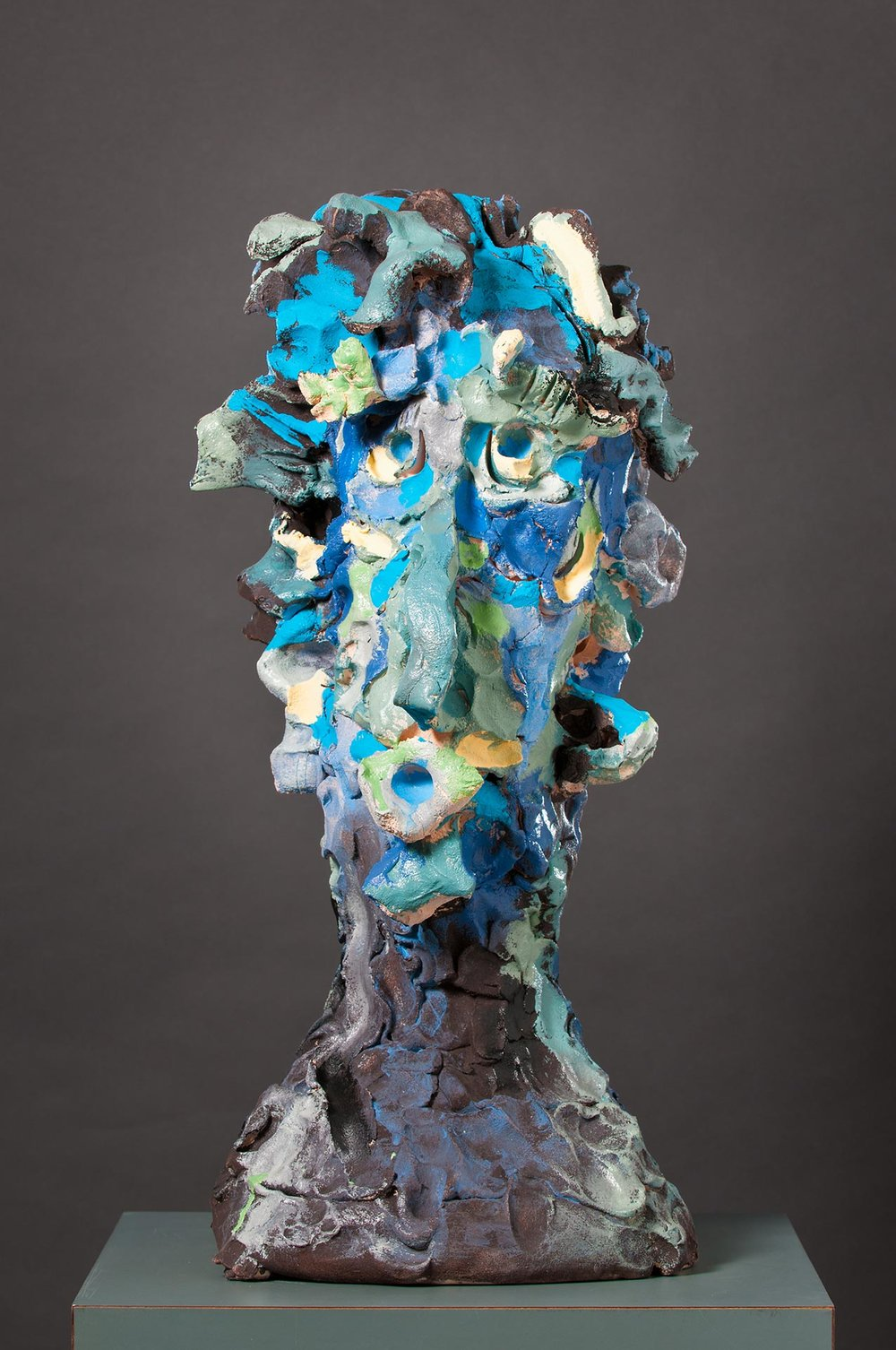 Ceramic Head No. 47 , Curt Brill