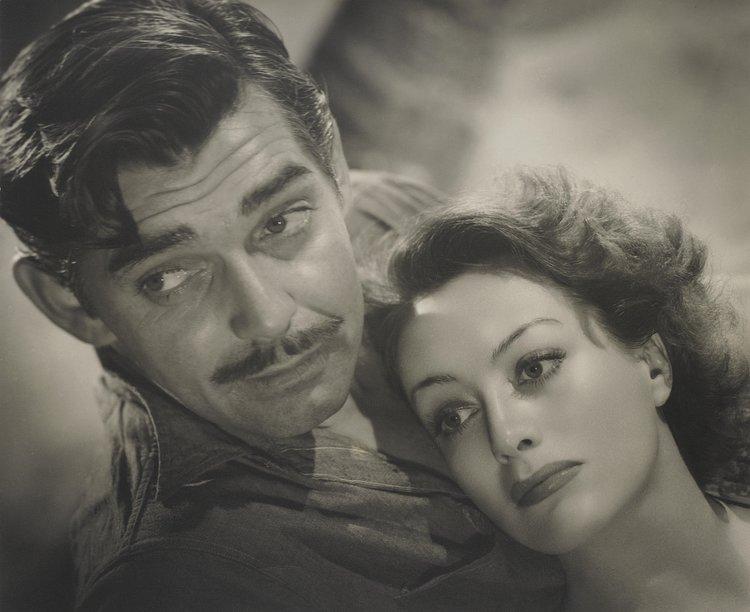 4. Joan Crawford & Clark Gable