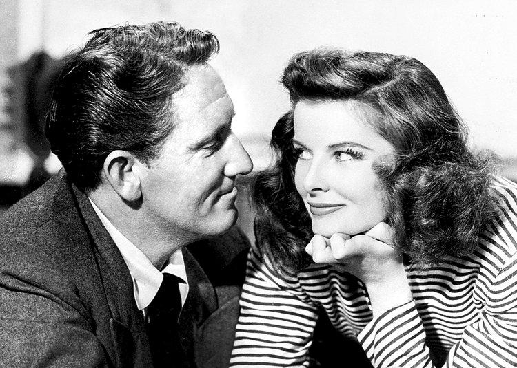 6. Katharine Hepburn & Spencer Tracy