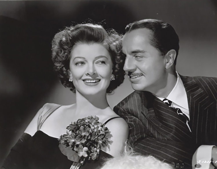 7. Myrna Loy & William Powell