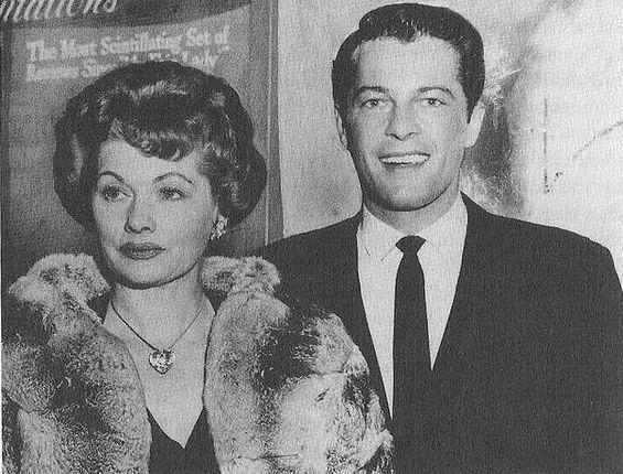 Lucille Ball and Robert Osborne