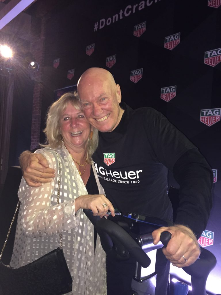 Roberta Naas with Jean-Claude Biver