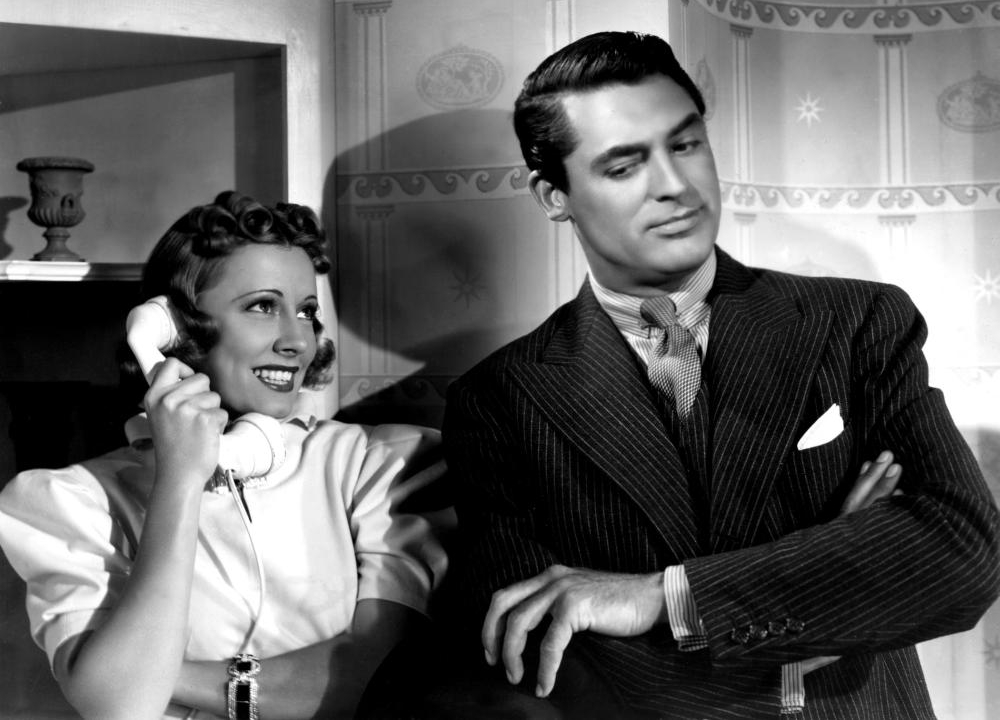 Irene Dunne and Cary Grant in The Awful Truth (1937)