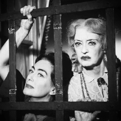 "Joan Crawford and Bette Davis made ""comebacks"" from their comebacks by joining together in Whatever Happened to Baby Jane in 1962."