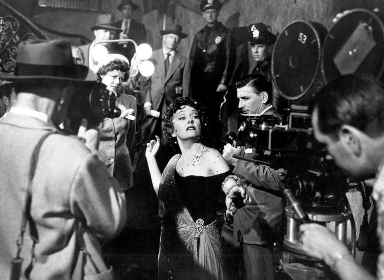 Gloria Swanson in Sunset Boulevard (1950)