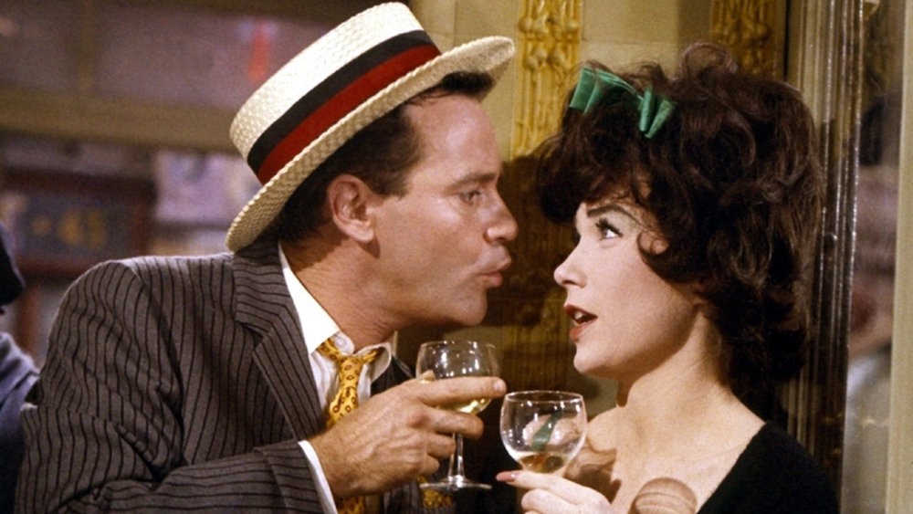 Jack Lemon and Shirley MacLaine in Irma la Douce (1963)