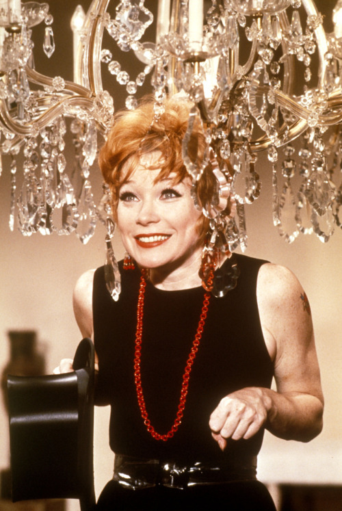 MacLaine as Charity Hope Valentine in Sweet Charity (1969).