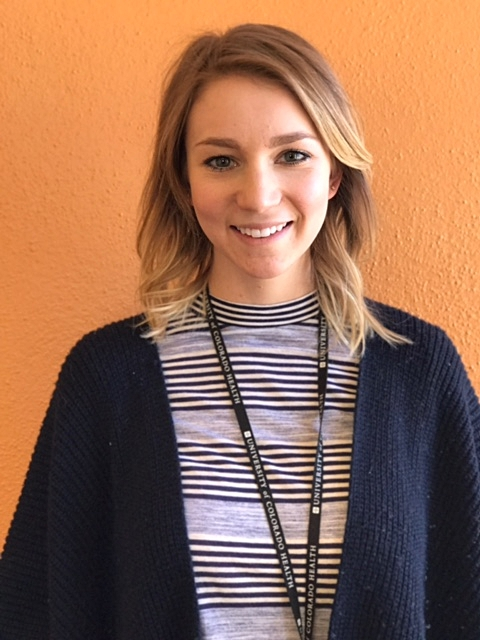 Alie Banning, BS Professional Research Assistant  - Alie received her BS in Health and Exercise Science from Colorado State University. She plans on attending Occupational Therapy school in the future to work with children in elementary schools. Alie currently performs study visits for Healthy Start II. Her favorite part of working with Healthy Start is seeing kids go in the BodPod