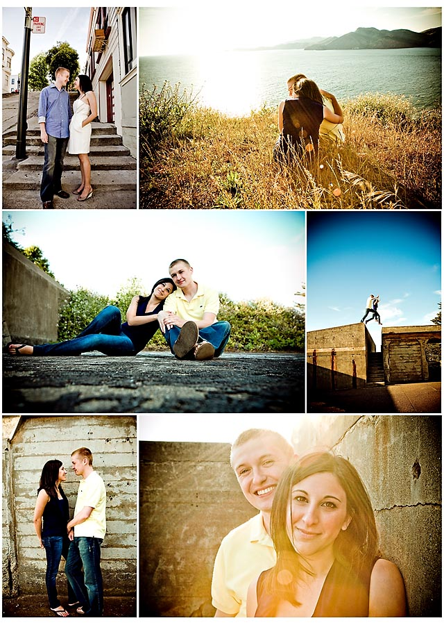 Devra and Brian engagement session