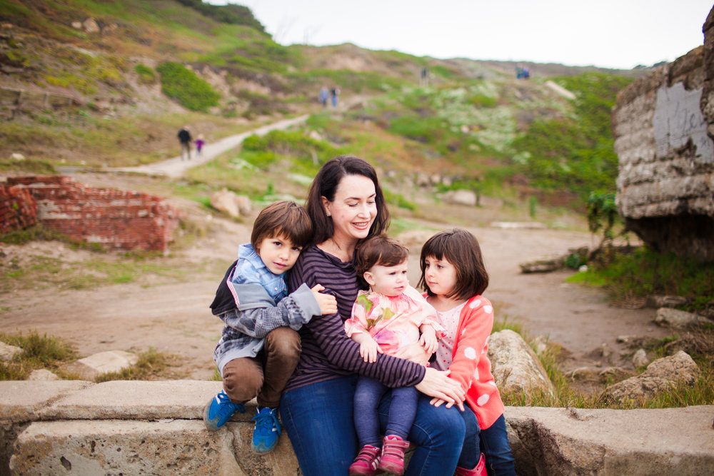 san francisco family photo session