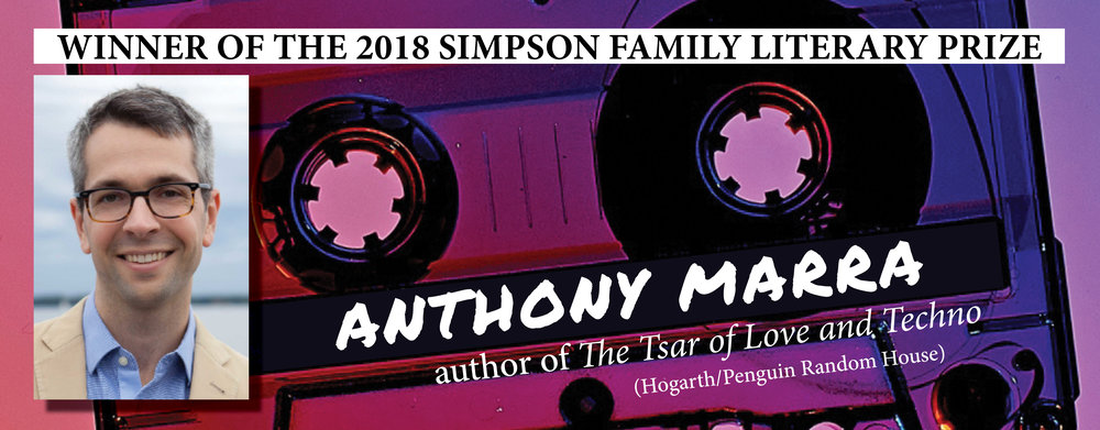 Click image for full 2018 Simpson Family Literary Prize Winner Release