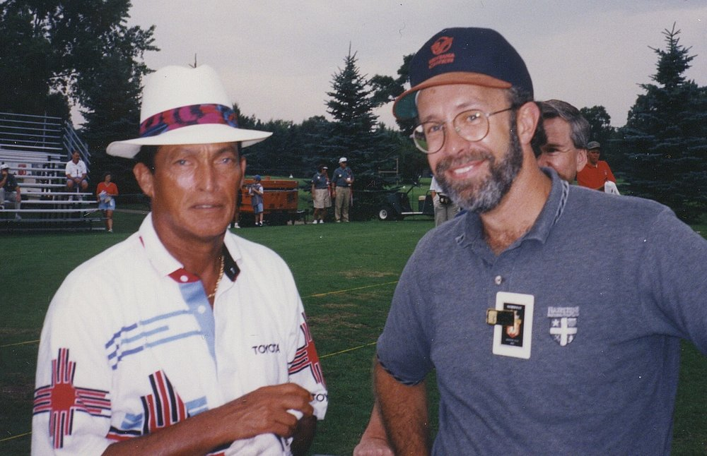 Hondo celebrity PGA Chi Chi Rodriguez @ Burnet Sr Classic Bunker Hills.jpg