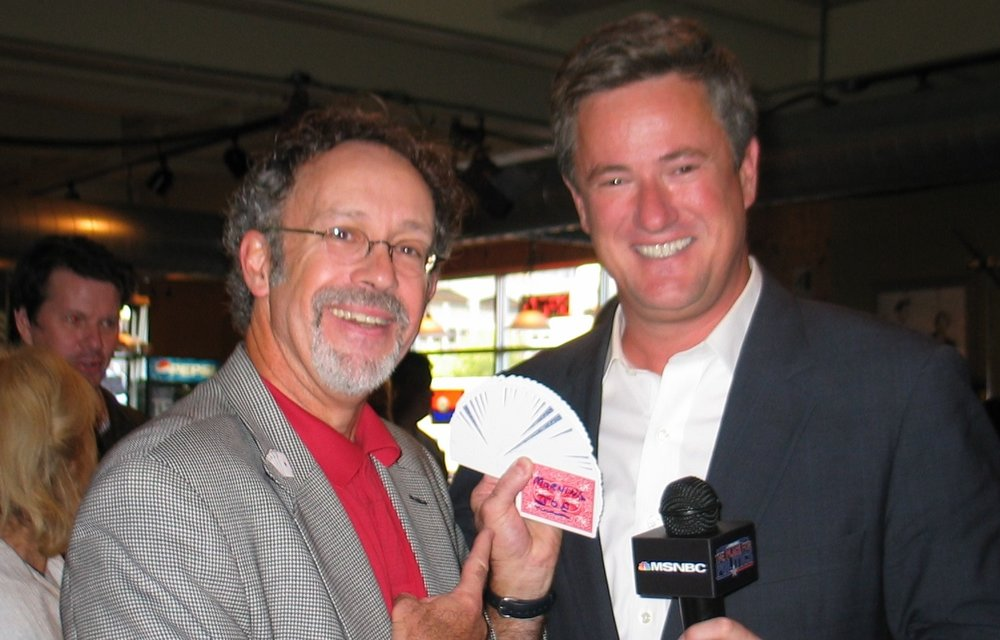Hondo Celebrity media  Joe Scarborough posing @ Keys RNC.jpg