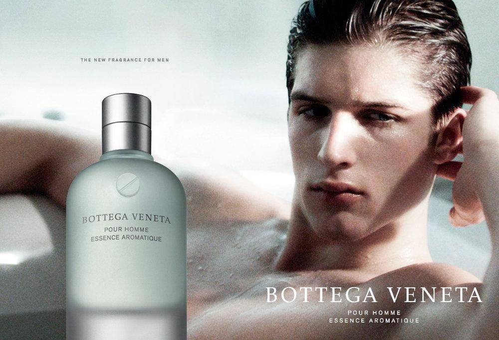 BOTTEGA VENETA POUR HOMME ESSENCE AROMATIQUE print campaign