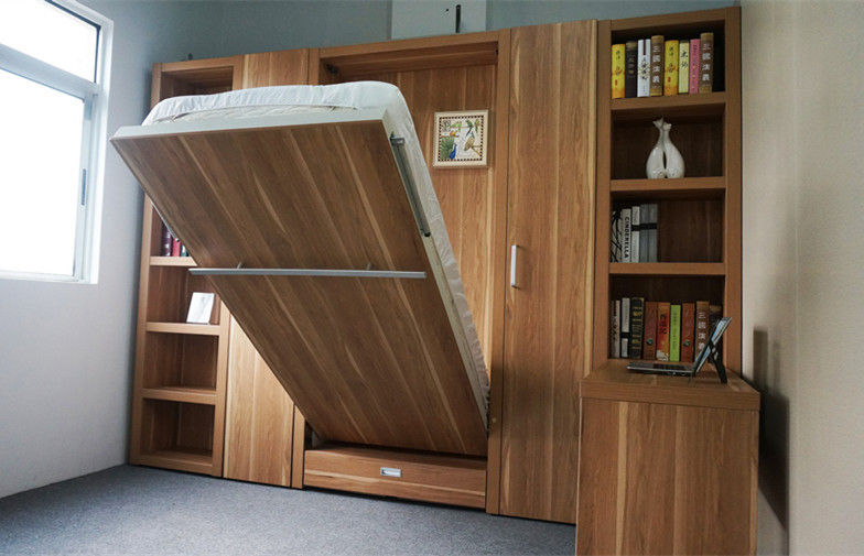 Simply Wooden Wall n' Out -------------------------------------- Tier Sleekly hide your sleeping space with A modern pull-out-bed $229.99