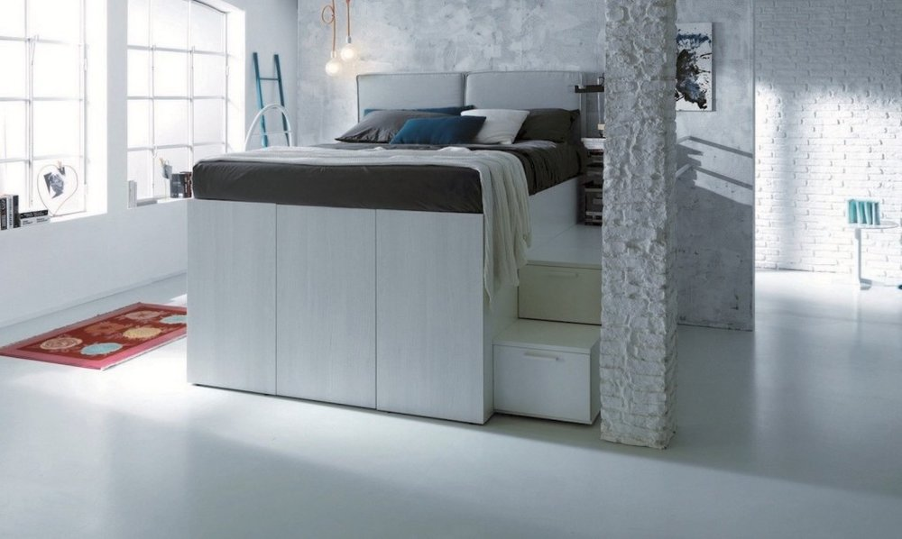 Two in One Bed with Closet -------------------------------------- TIER Get the extra storage with this modern design! $799.99
