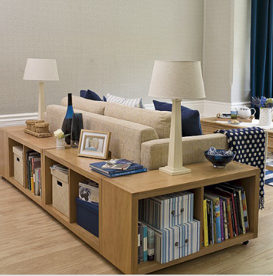 Simply Wood Sofa with Bookcase Set ------------------------------------------------- Sofa and a book storage $399.99