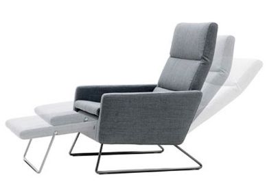 Pinto Chair ----------------------------------------------------------- A recliner that doesn't actually look like a super lazy recliner? For real! We love this modern piece of furniture.   $99.99