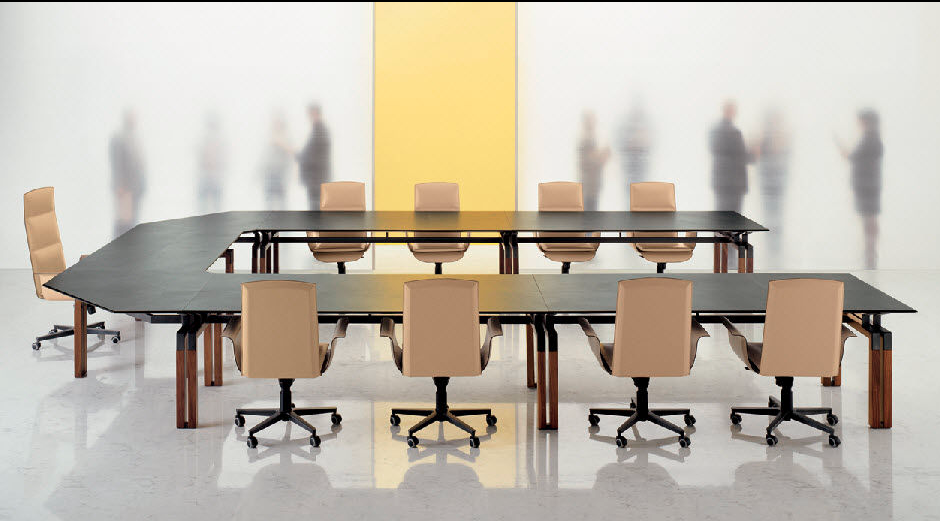 Transforming Conference Table ---------------------------------------------------------- Why not design a conference table the way you want, do you want a round or winged, now you can have both?! $1999.99