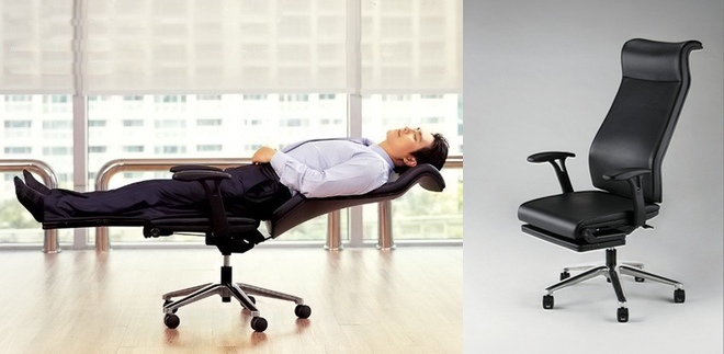 THE COMFY CHAIR -------------------------------------- Tired of work? Take a rest on this foldable chair while you're at work. $39.99