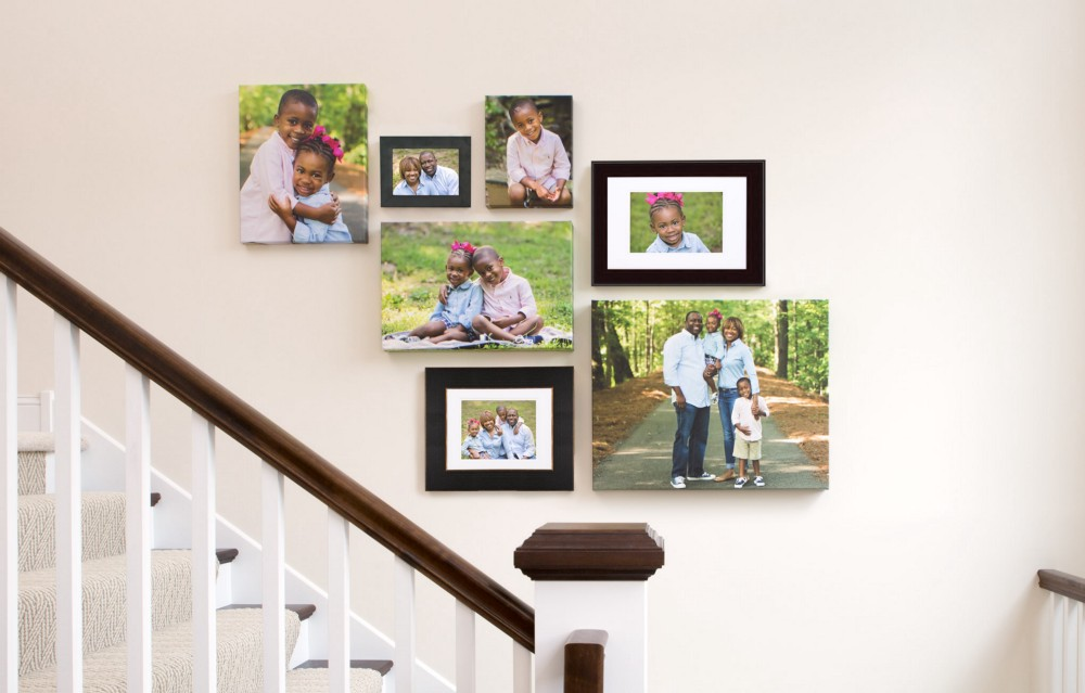 Sample Photo Wall Collage