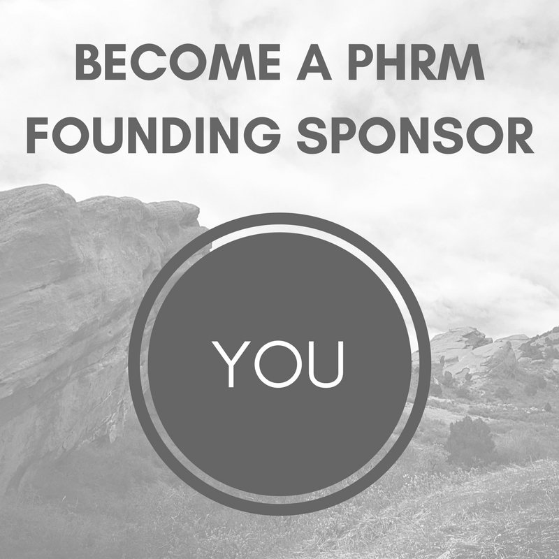 Contact us at phrockymountains@gmail.com to become a founding sponsor of PHRM.